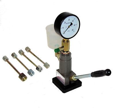 Diesel Einspritzdüsen Injektoren Tester Prüfgerät Abdrückgerät Werkzeug 0-600bar