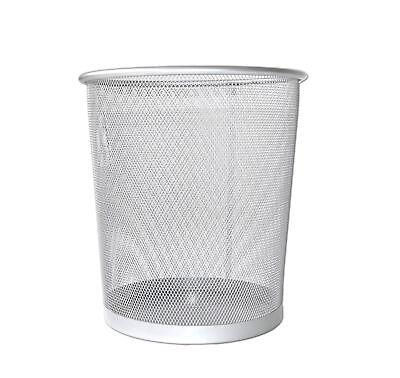 Mülleimer Metall Großer Design Papierkorb Abfall Papier Eimer Korb Büro Edel Möbel & Wohnen Müll- & Abfalleimer