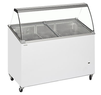 TEFCOLD IC300SCE NEW SCOOP BUDGET PRICE NAPOLI ICE CREAM SHOP FREEZER