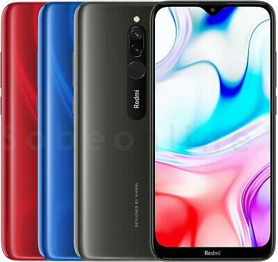 "Xiaomi Redmi 8 64GB 4GB RAM (FACTORY UNLOCKED) 6.22"" Dual-SIM (Global)"