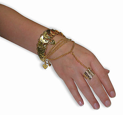 Desert Princess Hand Jewelry Harem Dancer Arabian Princess Costume Accessory ](Arabian Harem)