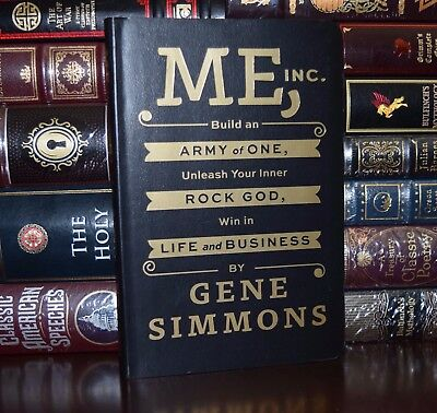 Build Army of One Win in Life & Business by Gene Simmons KISS New Leather Feel