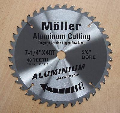 7-14 X 40t Aluminum Cutting Circular Saw Tct Blade