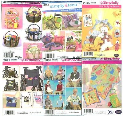 U PICK! Your choice of Simplicity McCalls Butterick Craft & Sewing Patterns -