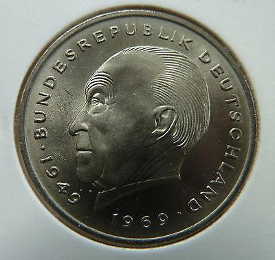 2 Mark 1969 J Konrad Adenauer in prägefrisch !!!