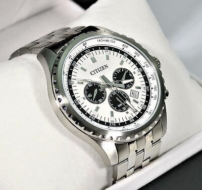Citizen Quartz Chronograph Stainless Steel Men's Watch AN8060-57A