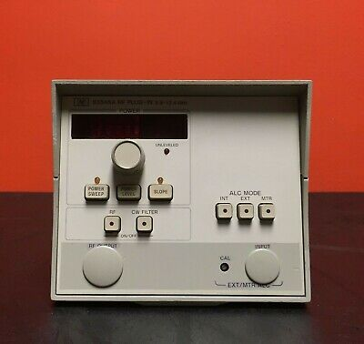 Hpagilent 83545a 5.9 To 12.4 Ghz Rf Sweep Generator Module Opt 002 004