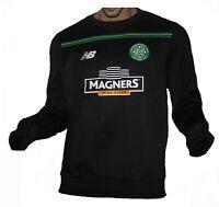 Celtic Glasgow Sweatshirt Black New Balance Irland Schottland Trikot  Magners M f59c89373dea