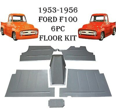 - 1953 1954 1955 1956 Ford Pickup Truck F-100 Floor Pan , Toe Board & Tranny Cover