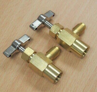 "2PC Self-Sealing R134a A/C Can Tap 1/2"" ACME Tapper Dispensing Valve Refrigerant"