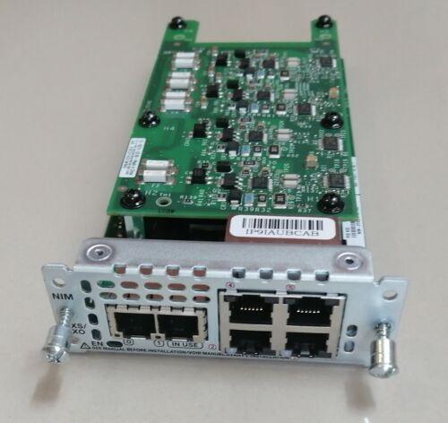 Cisco NIM-2FXS/4FXO 2-Port FXS, 4-Port FXO