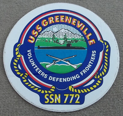 US Navy Decal - Sticker - USS Greenville SSN 772