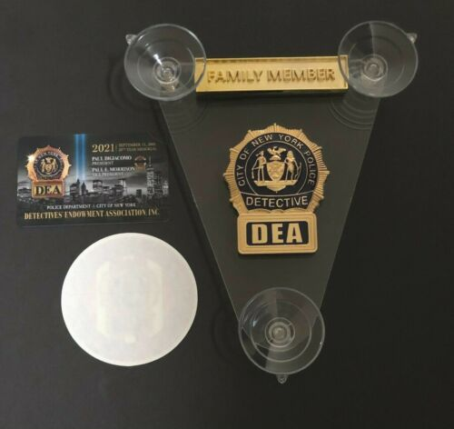 PBA 2021 CAR SHIELD  FAMILY MEMBER + INSIDE DECAL + CARD