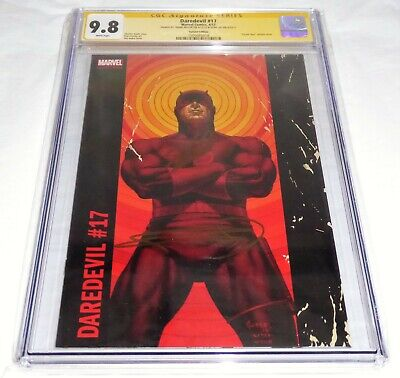 Daredevil #17 CGC SS 2x Signature Autograph STAN LEE FRANK MILLER Variant Cover