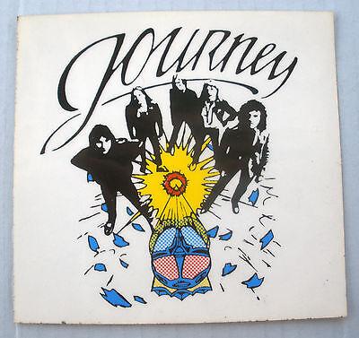 RARE JOURNEY EARLY 1980'S VINTAGE ORIGINAL UNUSED MUSIC DECAL STICKER