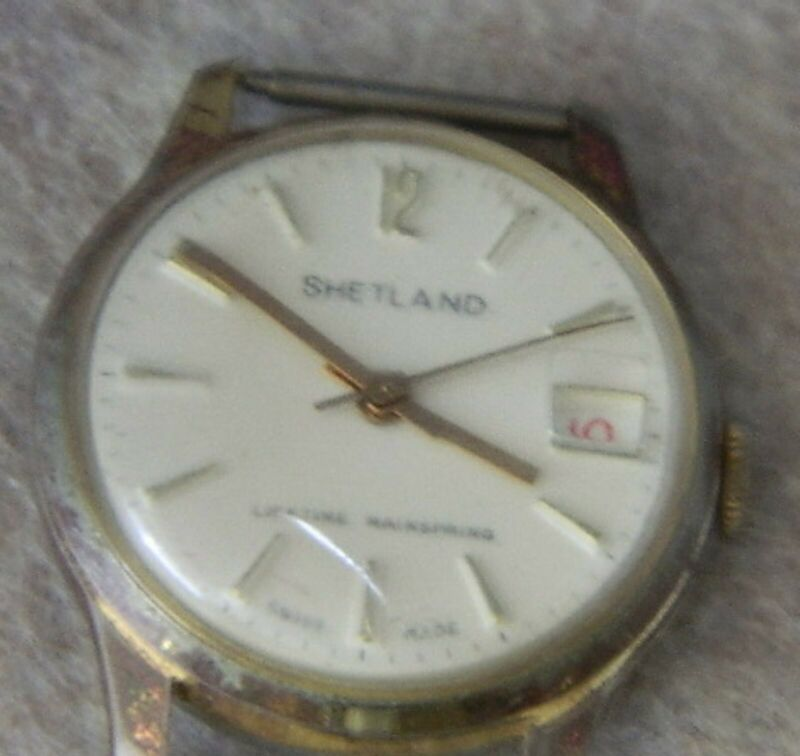 021#C-- Watch Shetland Men Vintage