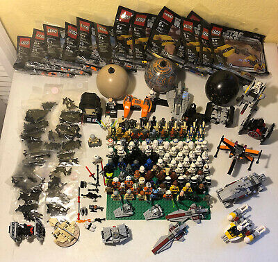 Choice of Star Wars Lego Polybags Minifigs Microfighters Weapons Planet Series