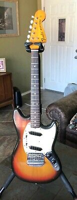 Vintage Fender Mustang Guitar, made in USA