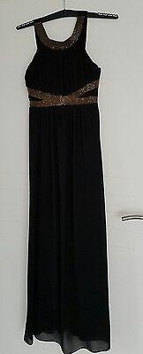 Umstandsmode, Abendkleid lang, schwarz, Kleid für schwangere, gr M . NP 129,-