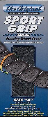 (Sport Grip - Dark Gray Lace-On Steering Wheel Cover)