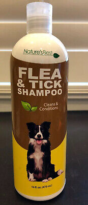 Natures Best Flea And Tick Dog Shampoo 16oz Repels Fleas And Ticks Made In