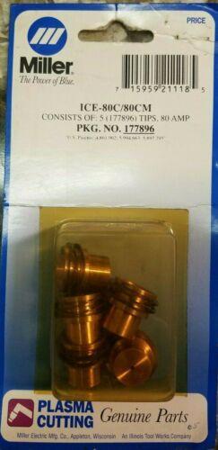 Miller 177896 Tip 80 AMP, 5 PK