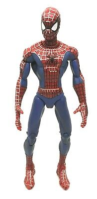 """Spider-Man MTV Animated Series 7"""" Action Figure 2003, used for sale  Shipping to India"""