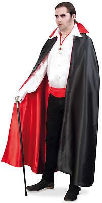 Dracula Deluxe Vampir Umhang Halloween Karneval Kostüm -