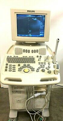 Philips Envisor Chd Ultrasound System Version C.1.5 W C5-2 L12-3 21336a Probes