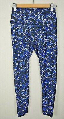 Fabletics x Demi Lovato High Waist Legging Size Small Blue