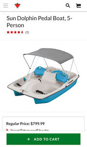 5 Person Pedal Boat (Brand New)