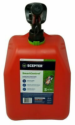 Scepter Fuel Can Smart Control Gasoline Container 5-gal