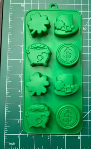 Silicone Mold Candy Chocolate Jello Cake Decorating Crafts St Patrick Day
