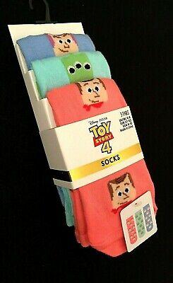 3 Paar Disney Toy Story 4  Socken socks  PiXAR Alien Buzz Lightyear Woody