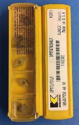 Kennametal Carbide Inserts Dpmt070204lf Dpmt2151lf Kc850 11 Pcs. L60