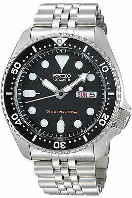 NEW SEIKO SKX007K2 Men's Watch Diver,Automatic,Stainless steel,Rotating Bezel,