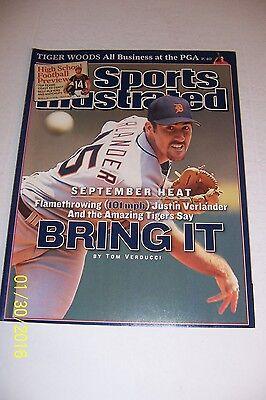 2006 Sports Illustrated Detroit Tigers Justin Verlander No Label News Stand Heat