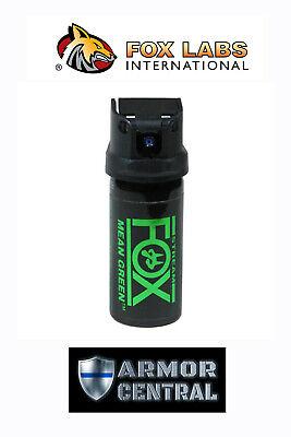 NEW MEAN GREEN FOX H2OC Cone Fog Pepper Spray - Law Enforcement - FX-156MGC