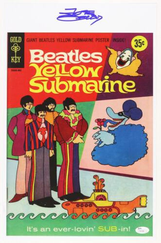 1968 Jose Delbo The Beatles Yellow Submarine Signed 11x17 Print (JSA)