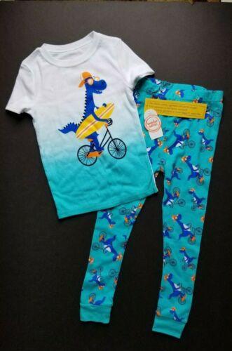 Wonder Nation Toddler Boys Pajamas Set Dinosaur 5T