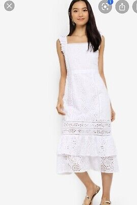 Banana Republic  Eyelet Dress  Sz 8