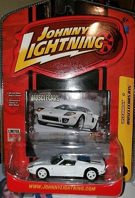 JOHNNY LIGHTNING 1/64 MUSCLECARS '05 FORD GT MOC for sale  Shipping to Canada