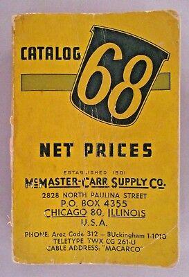 Mcmaster Carr Catalog  68   1962