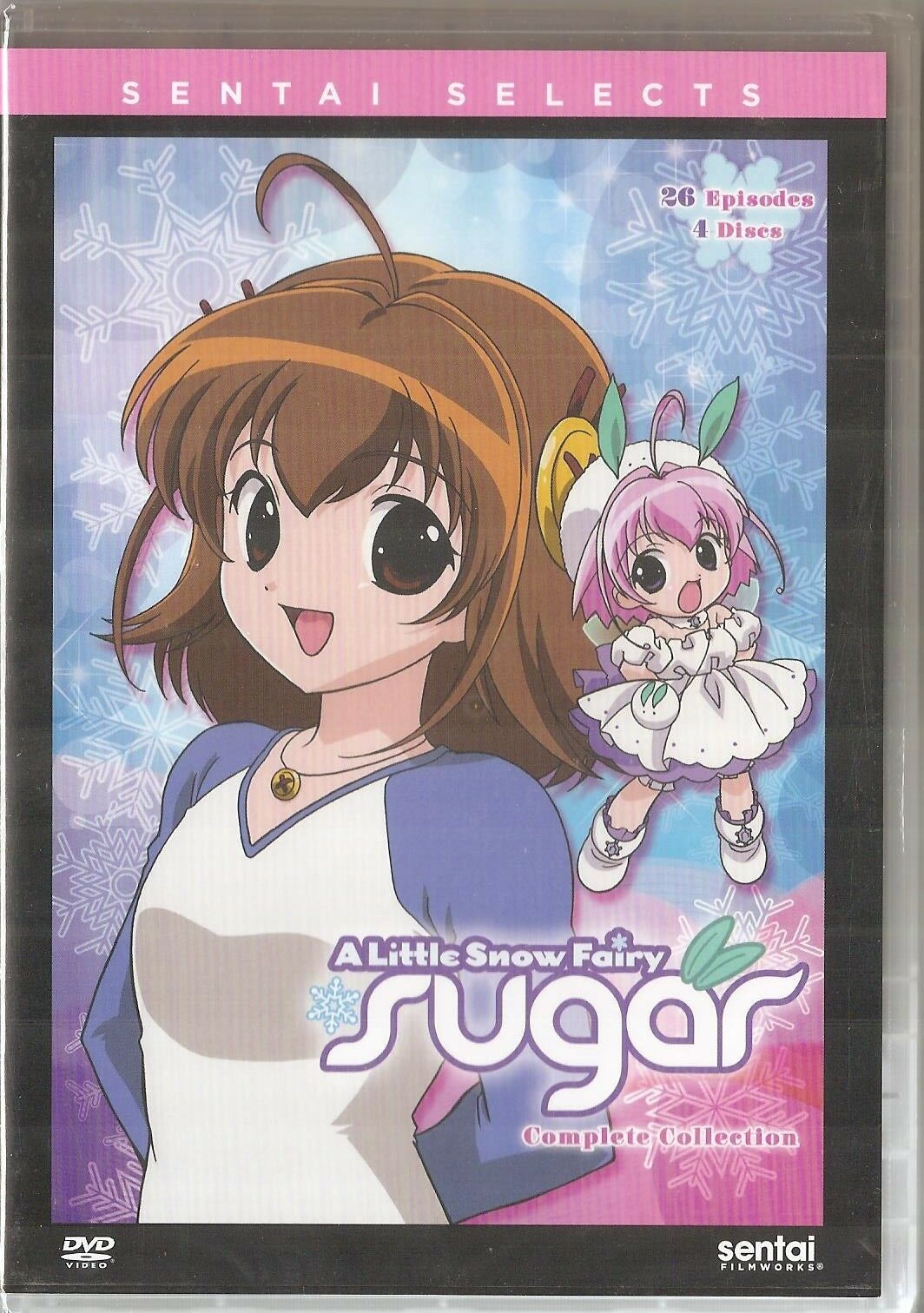A Little Snow Fairy Sugar Complete Anime Collection DVD Sentai Selects 4-Disc