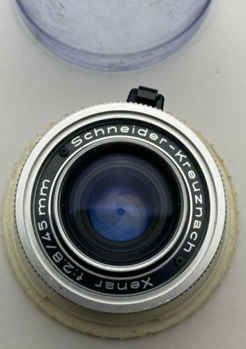 Kodak Retina-Curtagon 35mm f/2.8 Schneider-Kreuznach Lens w/ Case, GREAT SHAPE!