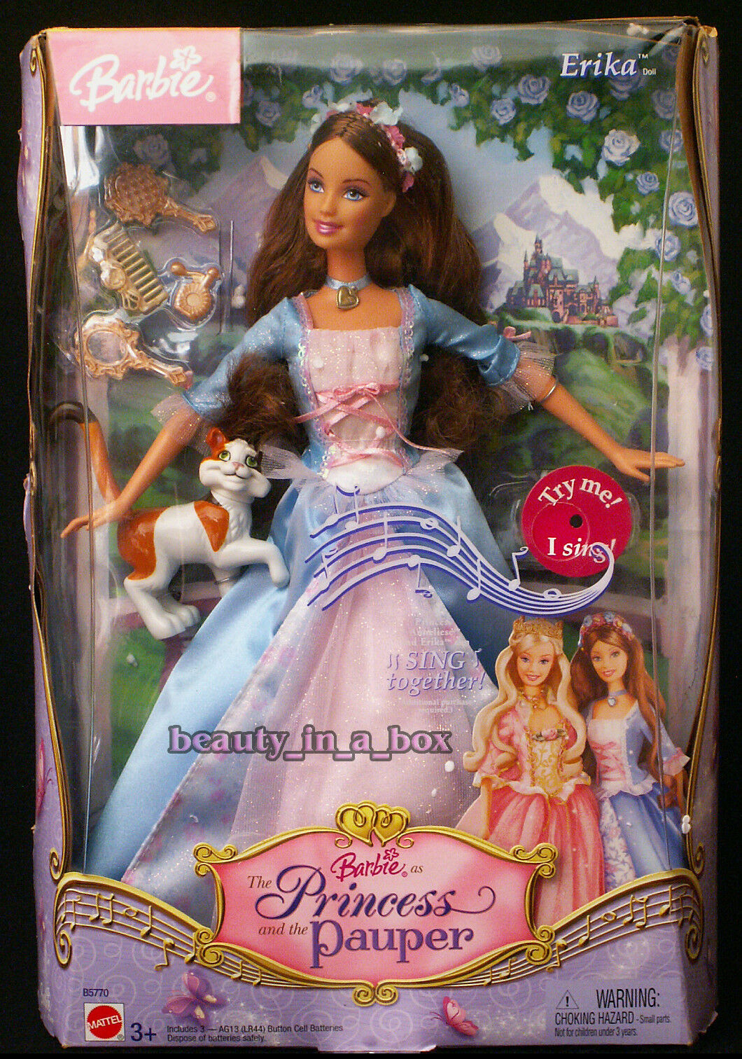 Anneliese Erika Barbie Doll King Dominick Princess and the ...