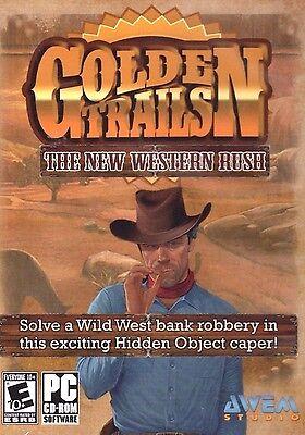 Golden Trails Hidden Object PC Games Windows 10 8 7 XP Computer seek & find NEW