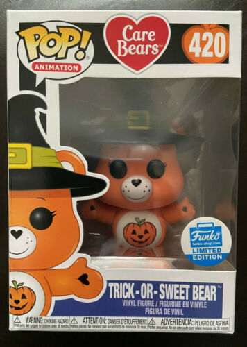 Funko POP! Animation Care Bears TRICK-OR-TREAT BEAR 420 Limited Edition Shop