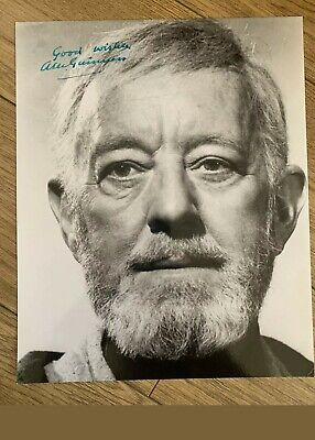 ALEC GUINNESS STAR WARS SIGNED PHOTO