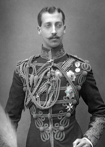 1891-PRINCE ALBERT VICTOR-Duke of Clarence & Avondale-Grandson of Queen Victoria